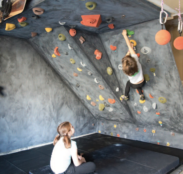 Picture for category #19. How To Build a Home Climbing Wall in a Garage
