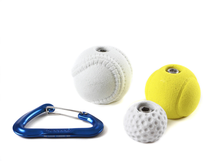 Picture of 3 Sports Balls ( Golf ball, Tennis ball, Baseball )