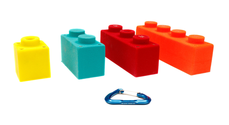 Picture of 4 Sensory Blocks (Screw On)
