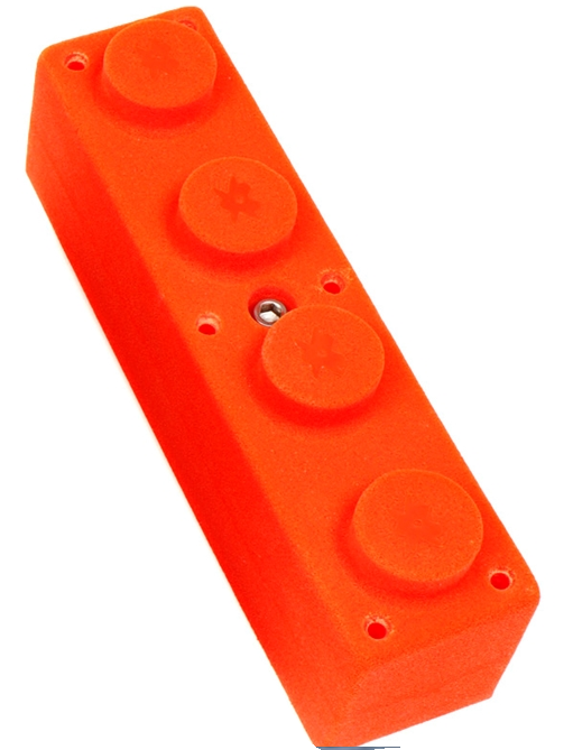 Picture of 1 Four Knob Block