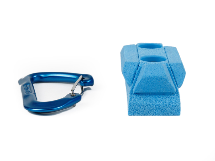 Picture of 2 Bolt Playground Climbing Hold - Narrow Hedron - 5 Pack
