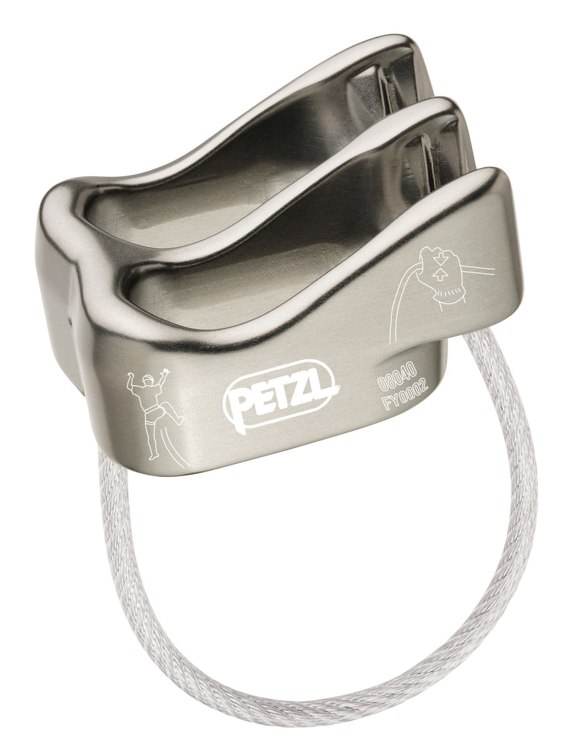 Picture of Petzl Verso Belay / Rappel device (Gray)
