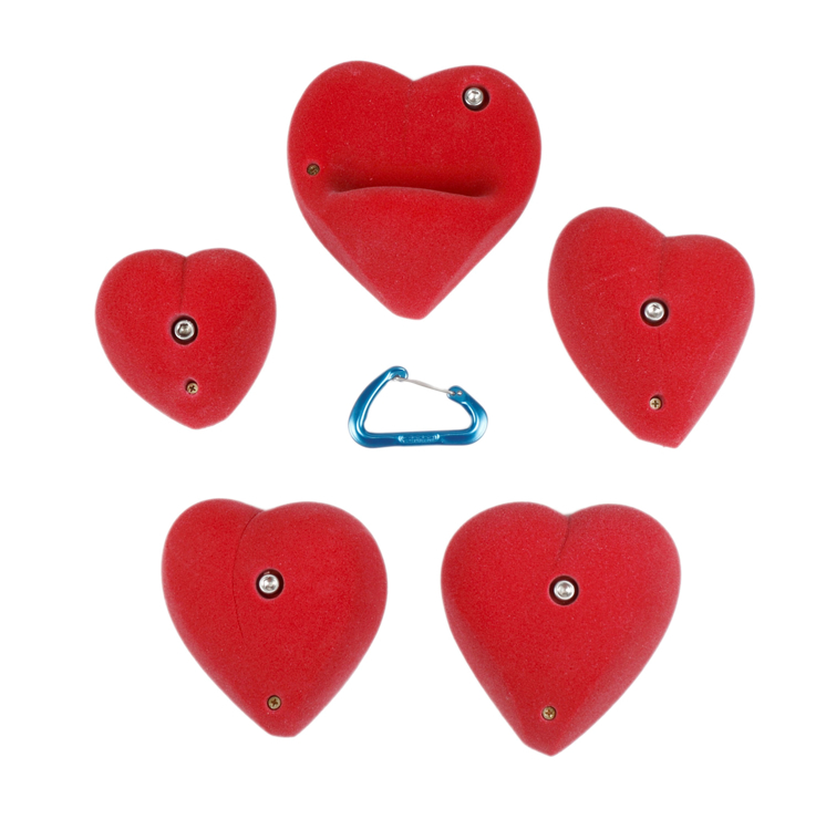 Picture of 5 XL Hearts