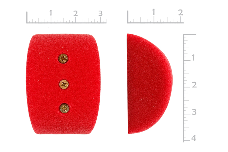 "Picture of 3"" x 80º System Pinches (Screw On) (Set of 2)"