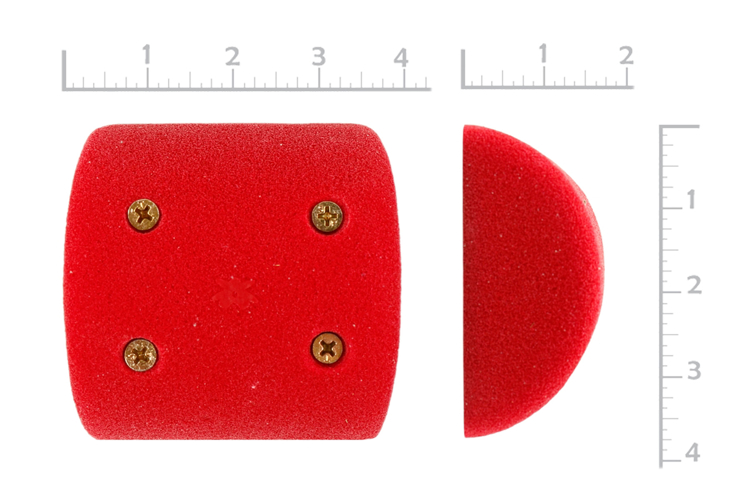 """Picture of 4"""" x 90º System Pinches (Screw-On) (Set of 2)"""