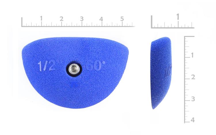 "Picture of 1/2"" x 60º Incut Crimps (Bolt-on) ( Set of 2 )"