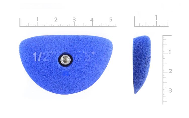 "Picture of 1/2"" X 75º Incut Crimps (Bolt-on) ( Set of 2 )"