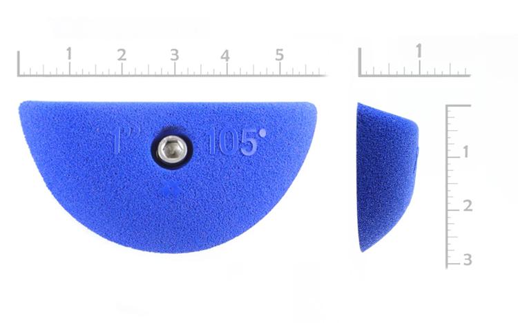 "Picture of 1/2"" x 105° Slopey Crimps  (Bolt-on) ( Set of 2 )"