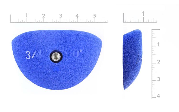 "Picture of 3/4"" x 60º Incut Crimps  (Bolt-on) (Set of 2)"