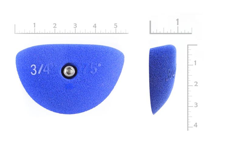 "Picture of 3/4"" x 75º Incut Crimps (Bolt-on) (Set of 2)"