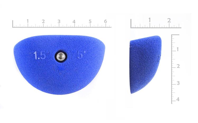 "Picture of 1-1/2"" x 75º Incut Crimps (Bolt-on) ( Set of 2 )"