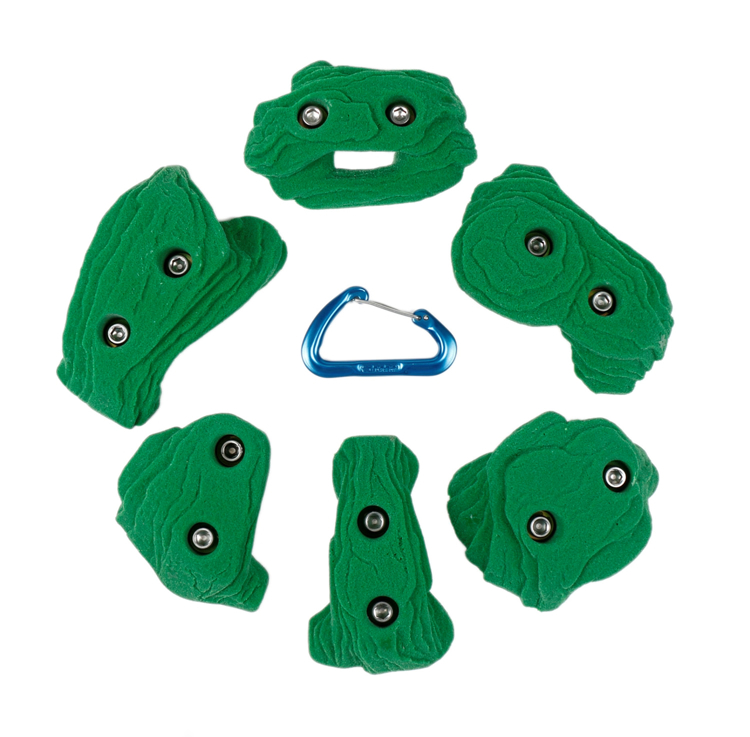 Picture of 2 Bolt Playground Climbing Holds - Sandstone - 6 Pack