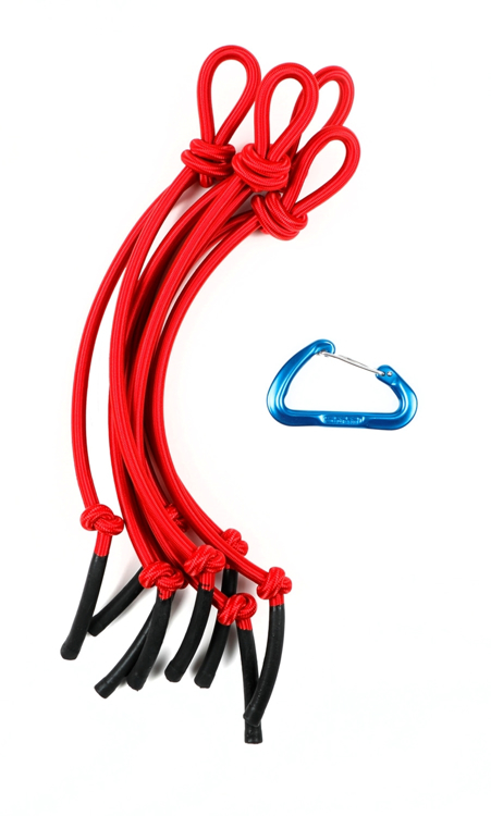 Picture of Hanging Bungee Cluster ( Red )