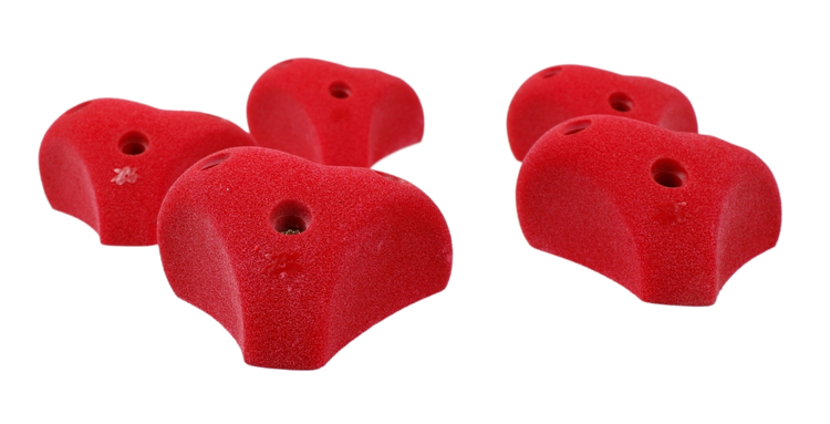 Picture of 5 Heart Mini Jugs (Screw On)