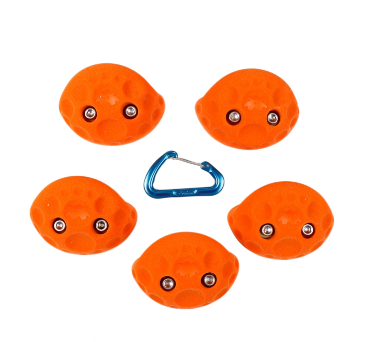 Picture of 2 Bolt Playground Climbing Holds - Golfus - 5 Pack