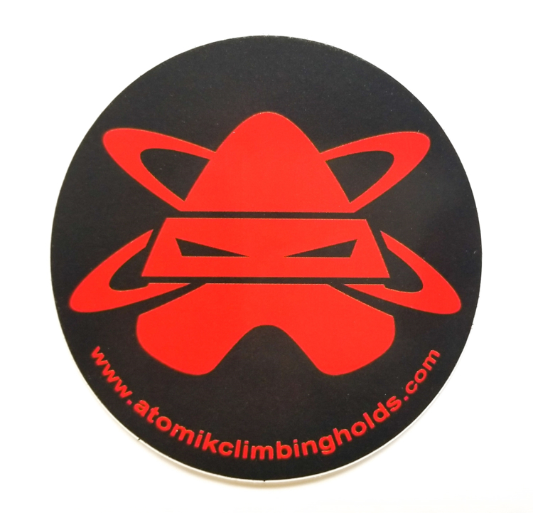 Picture of Atomik Ninja Vinyl Sticker