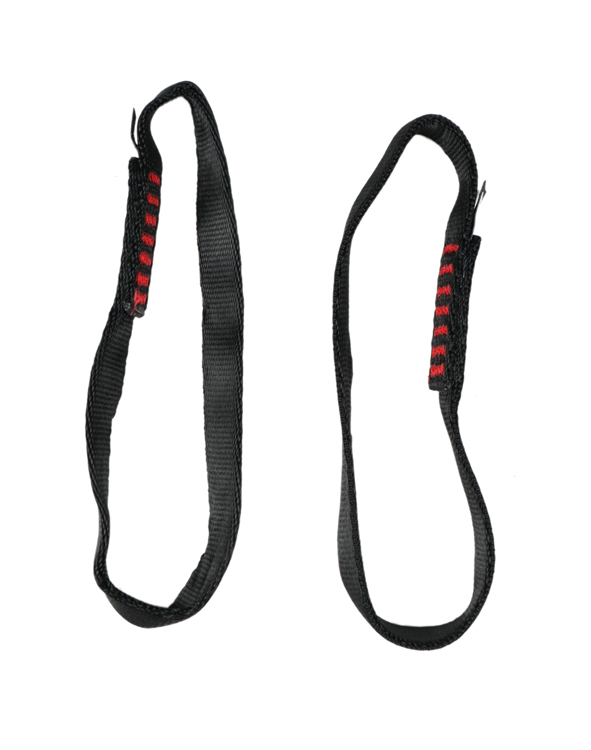 "Picture of 8"" Black Nylon Slings (Set of 2)"
