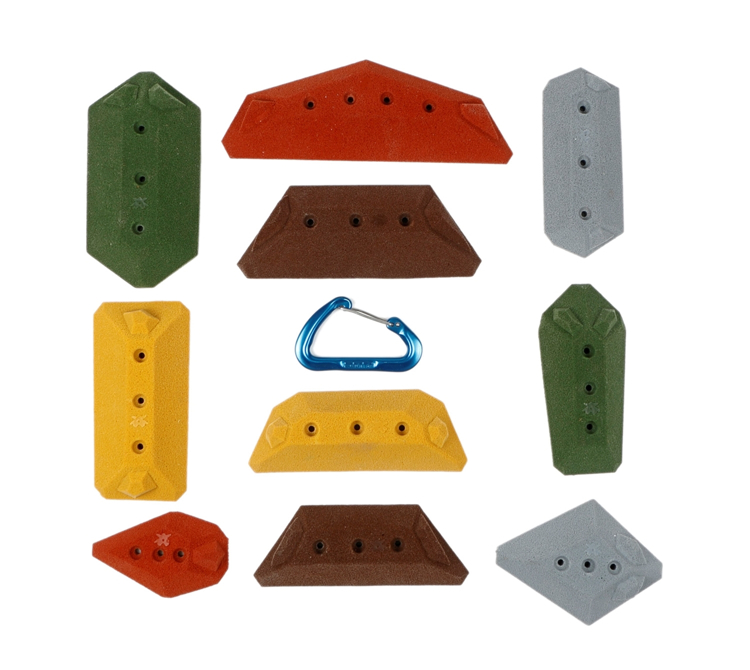Picture of 10 Low Angle Hedron Slopers (Screw ons)