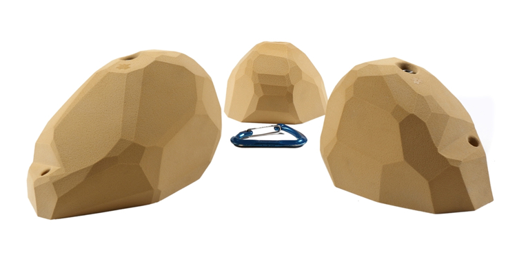 Picture of 3 XXL Steep Wall Slopers (Facets) Set #1