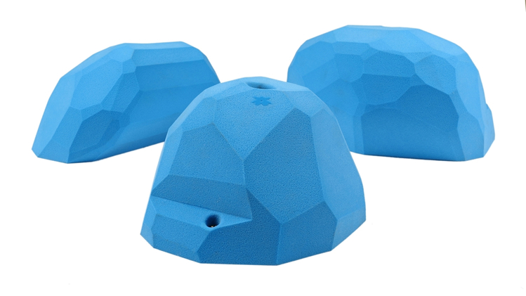 Picture of 3 XXL Steep Wall Slopers (Facets) Set #2