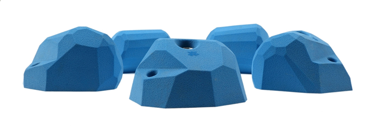 Picture of 5 Large Steep Wall Facet Slopers