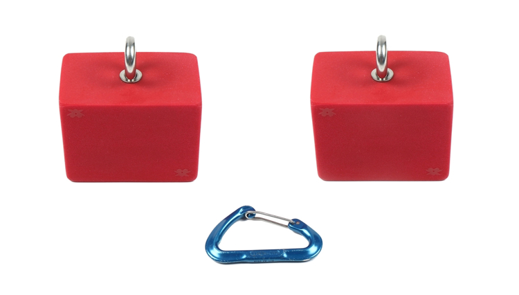 "Picture of 3"" Hanging Grip Training Blocks (Set of 2)"