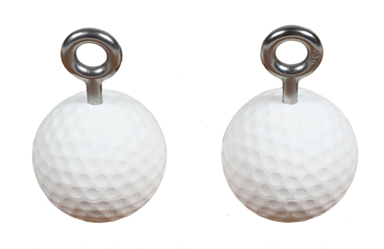 """Picture of Set of 2 Medium Golf Ball Bombs (3.5"""")"""