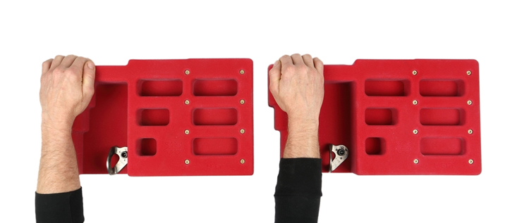 Picture of Atomik Grip Training HangBoard (3 Row)