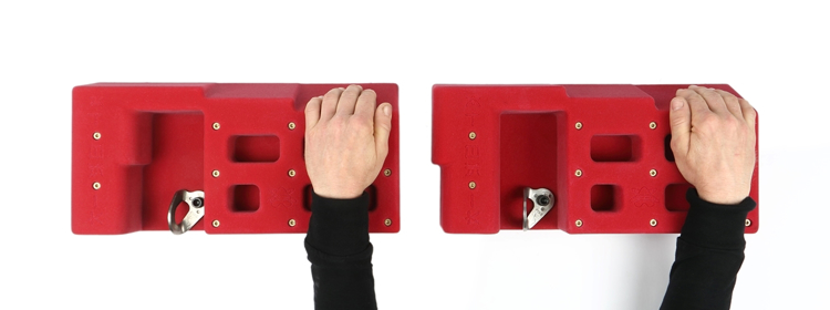 Picture of Atomik Grip Training HangBoard (2 Row)