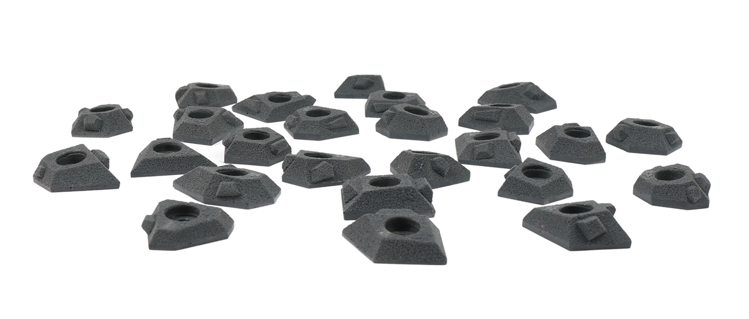 Picture of 25 Super Small Hedron Tech Feet