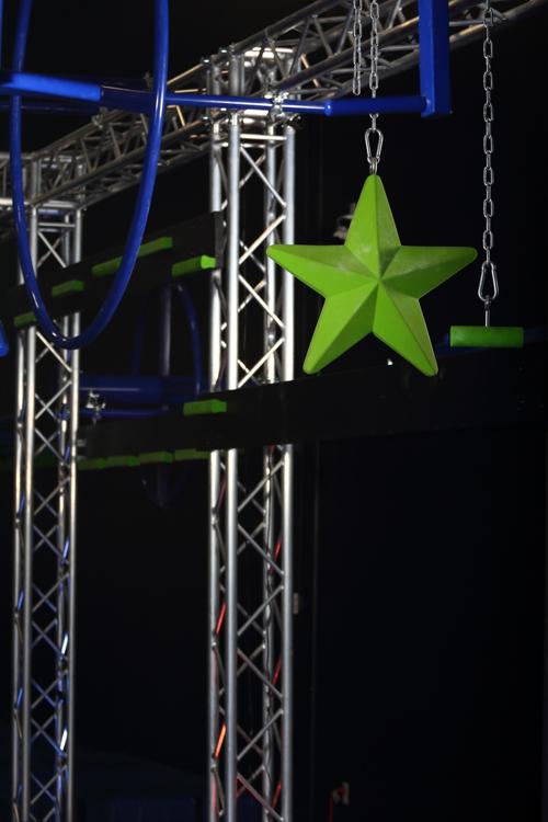 Picture of XXXL Rubber Hanging Ninja Star