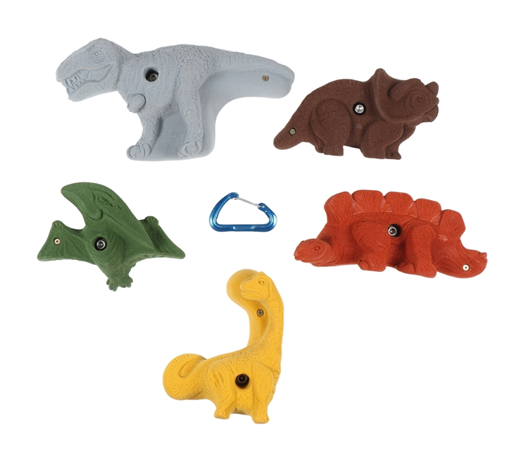 Picture of 5 Pack Dinosaurs (Bolt-on)