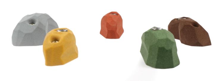 Picture of 5 Medium Facet Pinches Set #1 (Incut)