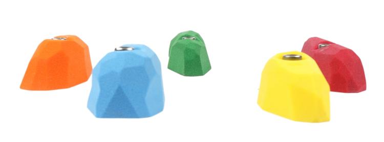 Picture of 5 Medium Facet Pinches Set #2 (Neutral)