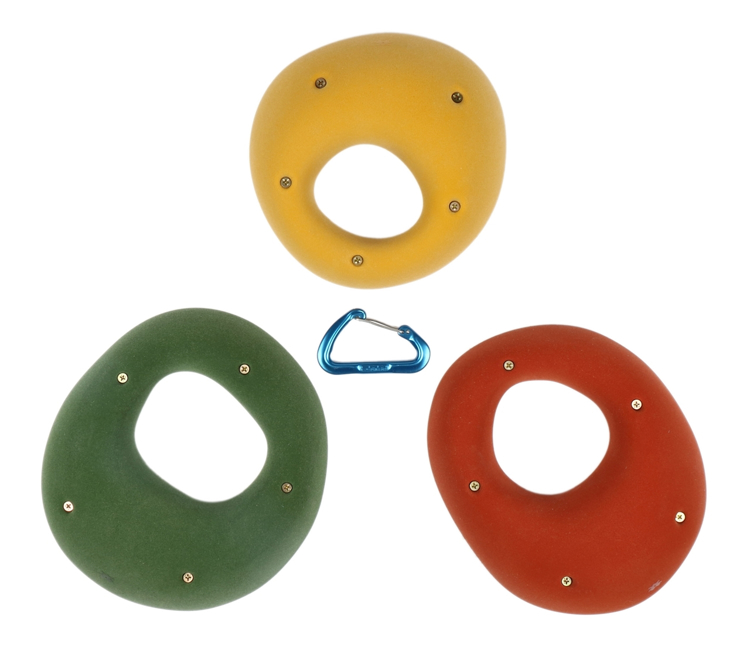Picture of 3 Pack XXL Steep Wall Hueco Slopers (Screw-on)