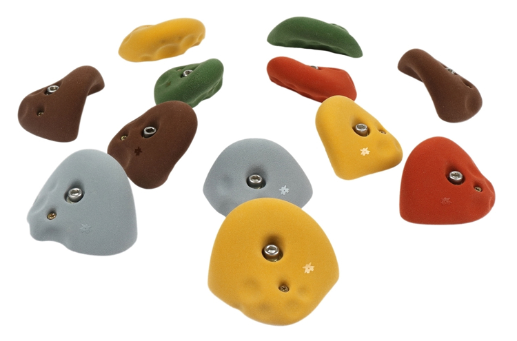 Picture of OVERPOUR Pack - 12 Large Golfus Jugs (Assorted Tones)