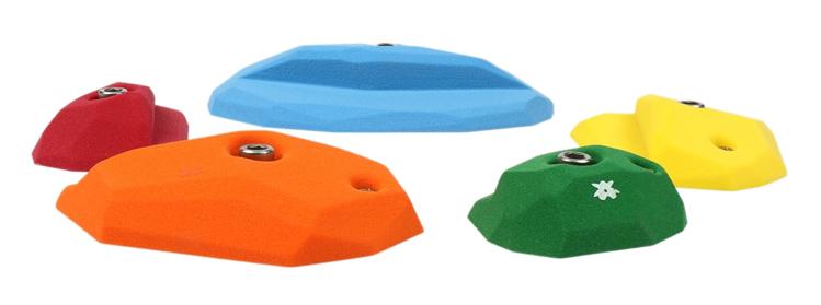 Picture of 5 Medium Facet Crimps (Vertical)