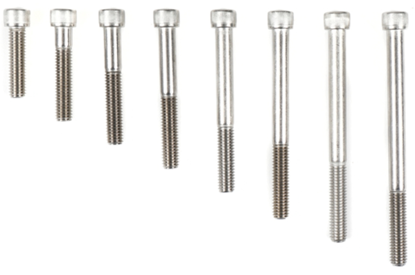 Picture for category #4. Different Lengths of Bolts and Why