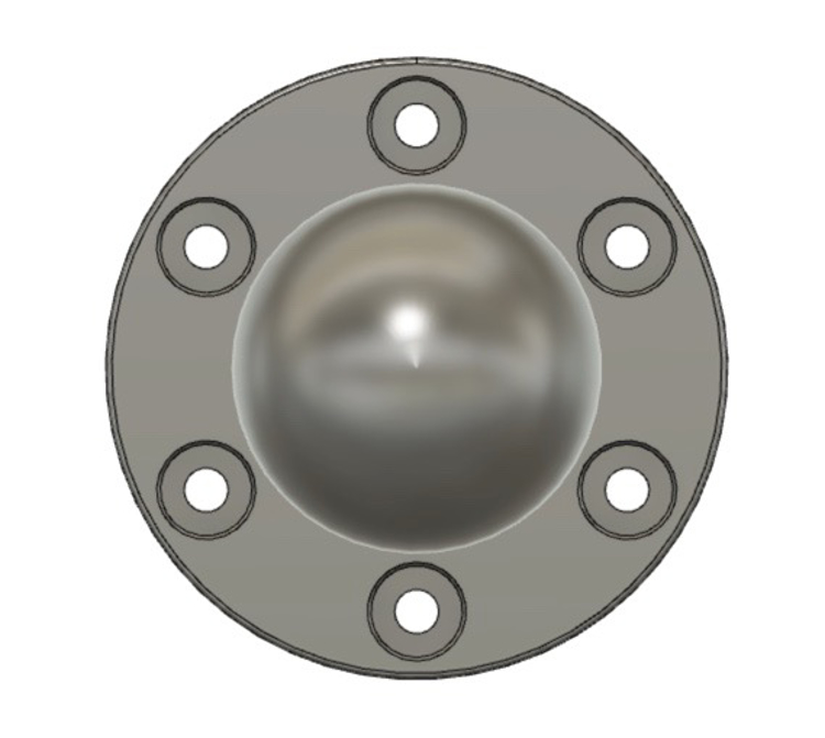 Picture of Ring Toss Knob (Choose one or five)
