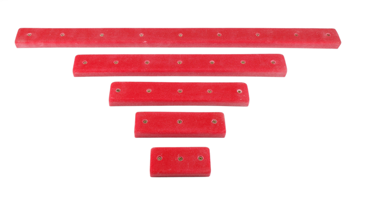 Picture of DEAL OF THE DAY 5 Obstacle Course Rails (Screw On) DARK BLUE