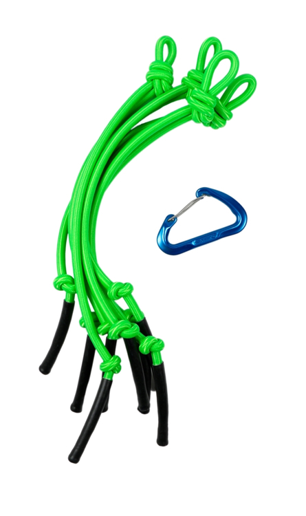 Picture of Hanging Bungee Cluster ( Lime Green )