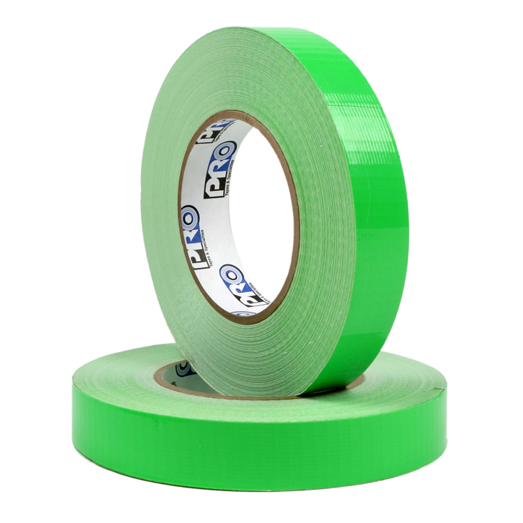 """Picture of FLUORESCENT GREEN  1"""" Route Setting Tape"""