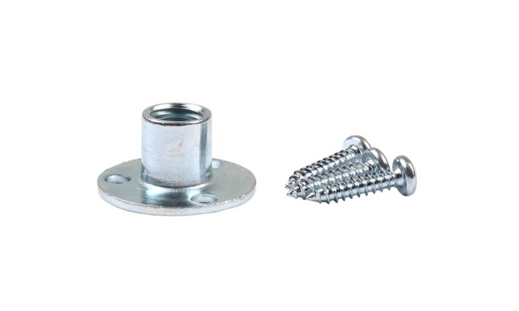 Picture of T-nut (Round Base Zinc) Case Quantity