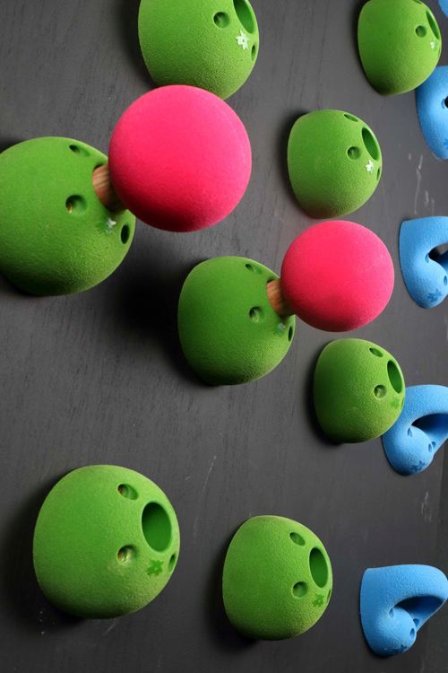 "Picture of DEAL OF THE DAY Peg Board Bombs / Balls 3.5"" ( Set of 2 ) GREEN - copy"