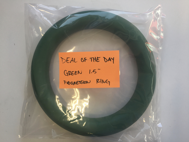 Picture of Deal of the Day Green 1.5 Inch Progression Ring (One Ring Only) GREEN