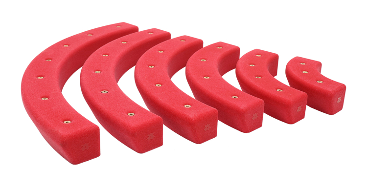 Picture of 6 Pack of Rainbow Rails (Screw-On)