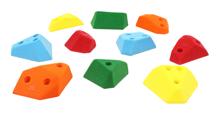 Picture of 10 Angled Slopers (Screw On)