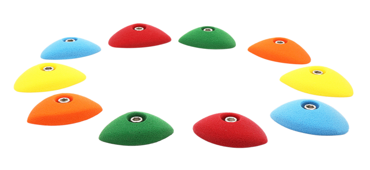 Picture of 10 Oval Crimps Set #3