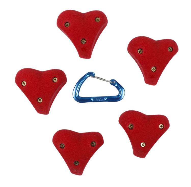 Picture of 5 Heart Mini Jugs (Screw On)