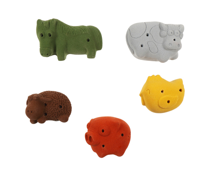 Picture of 5 Farm Animals (Screw-on)